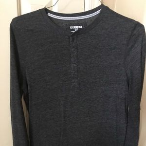 Long sleeve Express Henley. Small in great shape.